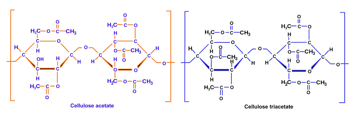 acetate-and-triacetate-chemical-structure