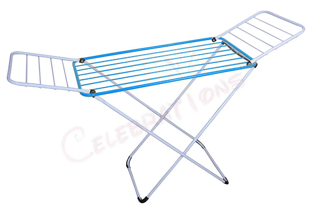 The Celebrations Fast Dry Cloth Dryer Stand in Mild Steel Review